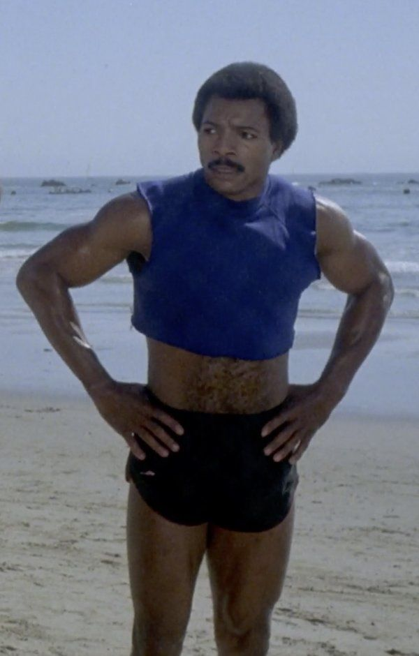 Rocky Apollo Beach : rocky, apollo, beach, Rocky, Apollo, Creed, (1983), Film,, Weathers,