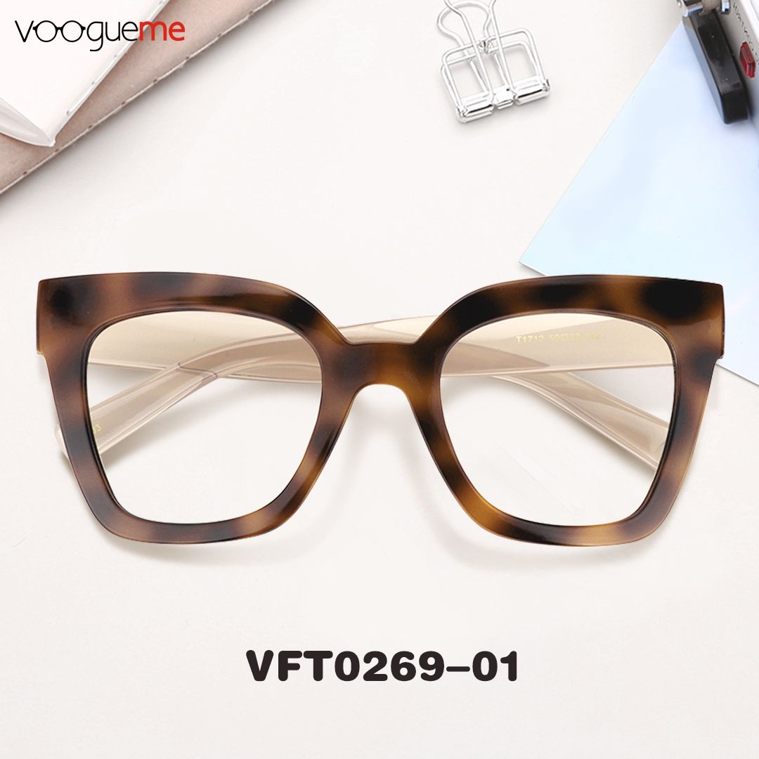33cf4ed8907 Naila Cat Eye Tortoise Eyeglasses Made of high-quality TR90 material