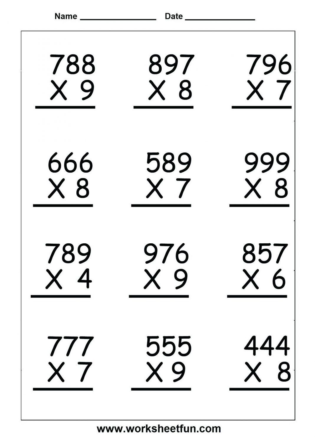 39 Stunning 5th Grade Math Worksheets For You Bacamajalah 4th Grade Math Worksheets Multiplication Worksheets Printable Math Worksheets