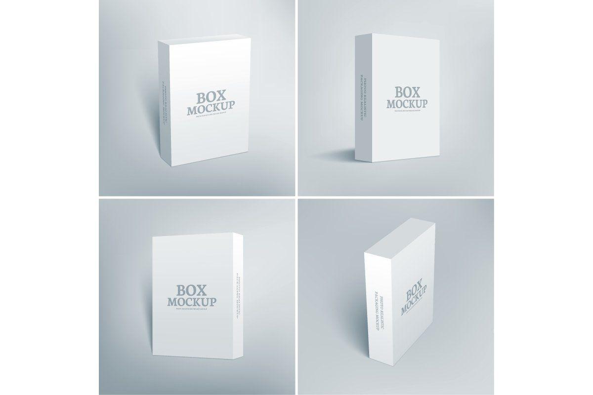 Download Software Packaging Box Mockup Box Mockup Mockup Design Box Packaging