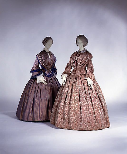 Dresses  1850s  The Metropolitan Museum of Art