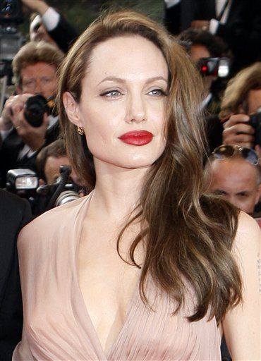Angelina Jolie red lips | ~ Shades of RED ~ | Pinterest | Red lips ...