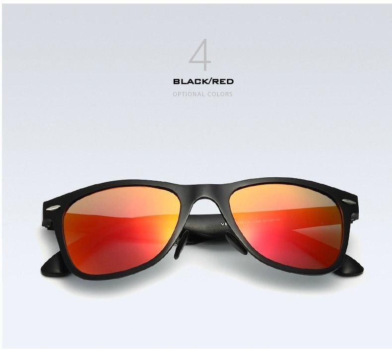 f15fdee286 VEITHDIA Unisex Aluminum Polarized Mirror Sun Glasses- Ideal For Dressing