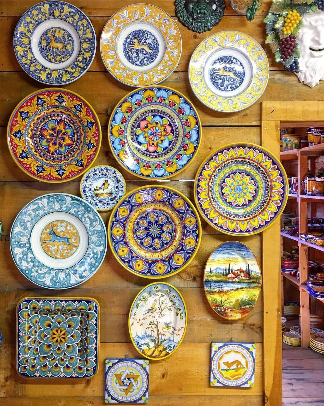 Ceramiche Toscane Montelupo Fiorentino bonechi imports italian ceramics: pottery from deruta gubbio