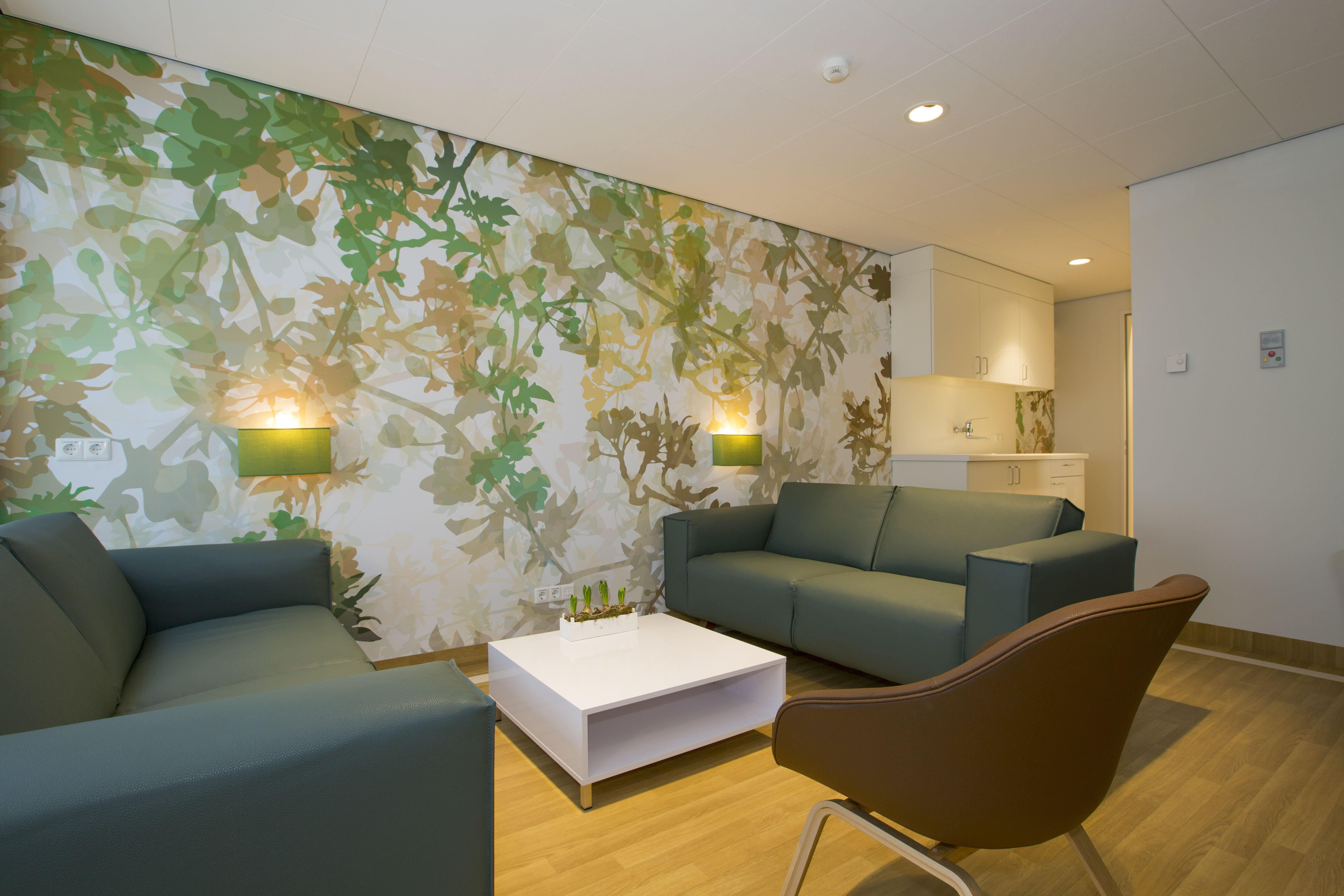Hospital Interior Design Living Room Closed Unit