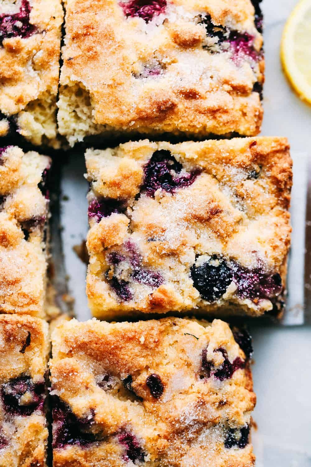 Incredible Blueberry Buttermilk Breakfast Cake | The Recipe Critic