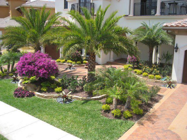 Front Yard Landscape Tropical Landscaping Backyard Landscaping Designs Florida Landscaping