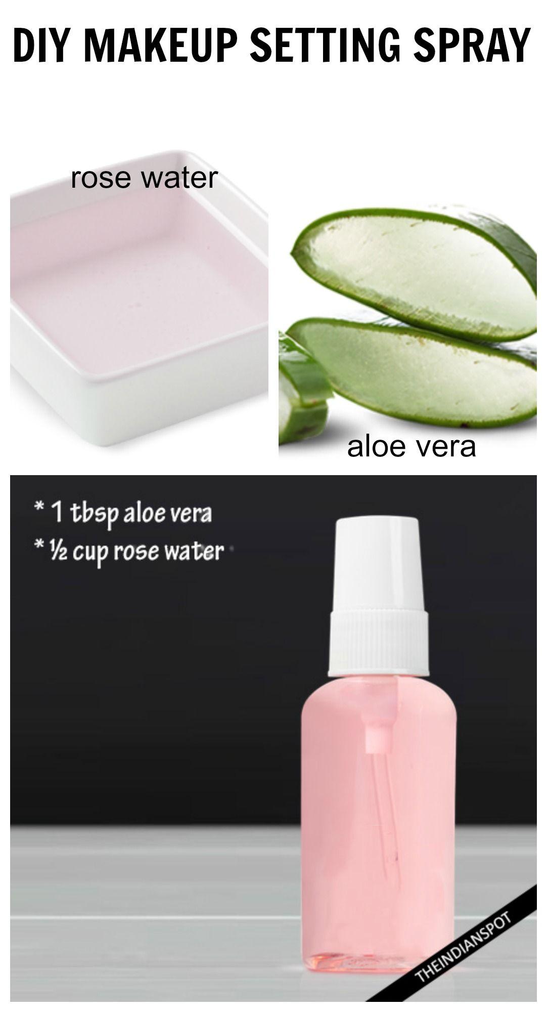 Home recipes for facial sprays