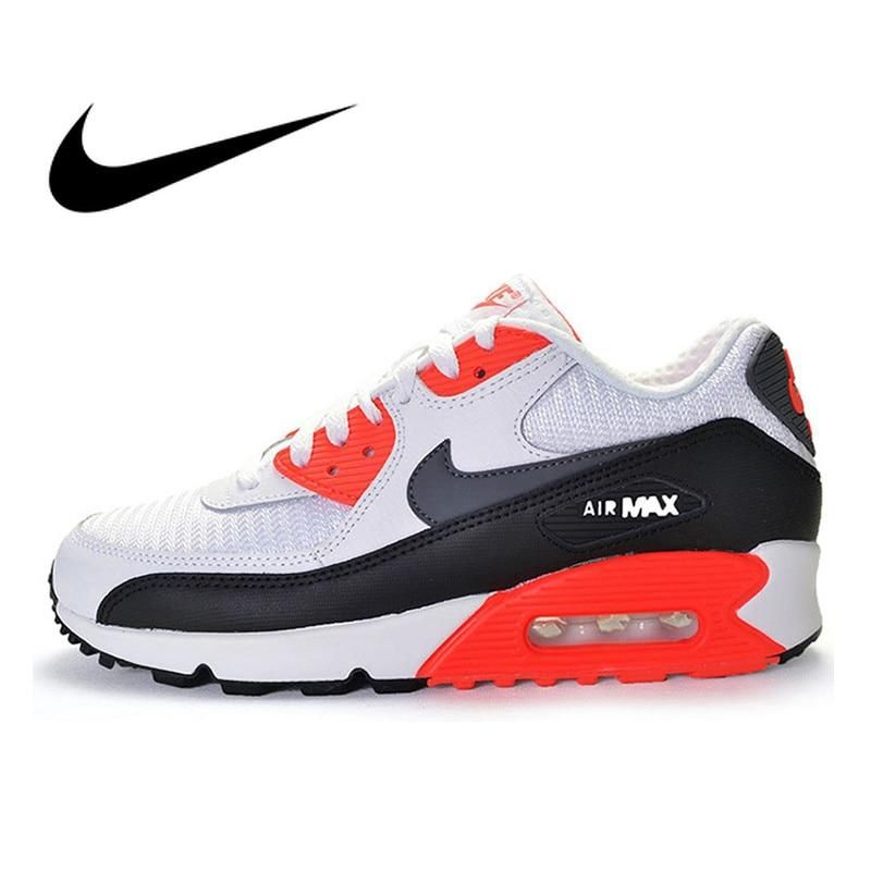 63341a79db Original Authentic New NIKE Men's AIR MAX 90 ESSENTIAL Breathable Fashion  Running Shoes Sneakers Sport Outdoor