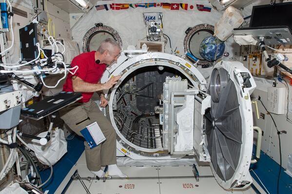 Super lavatrice spaziale