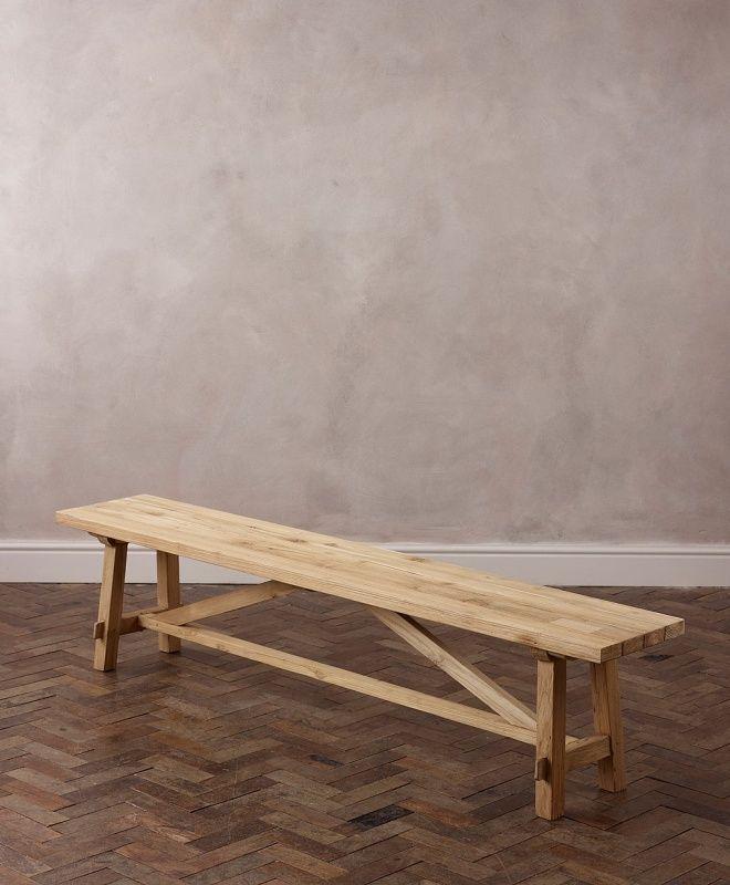 IKEA NORDEN Bench, birch 59\ - lasure pour bois exterieur