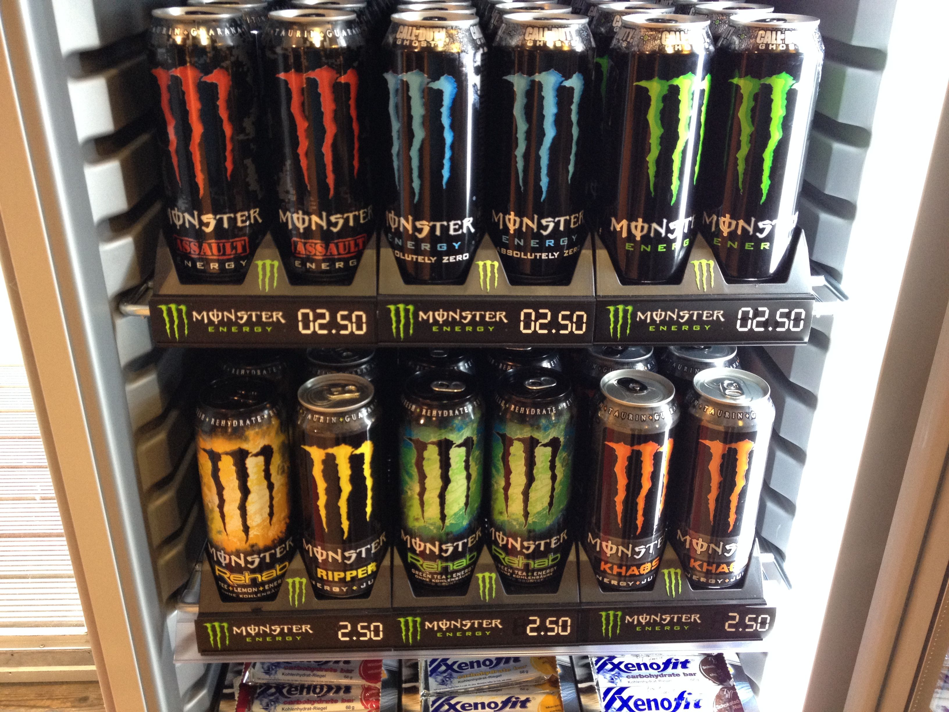 monster energy cooler | Collectibles, Advertising, Food & Beverage ...