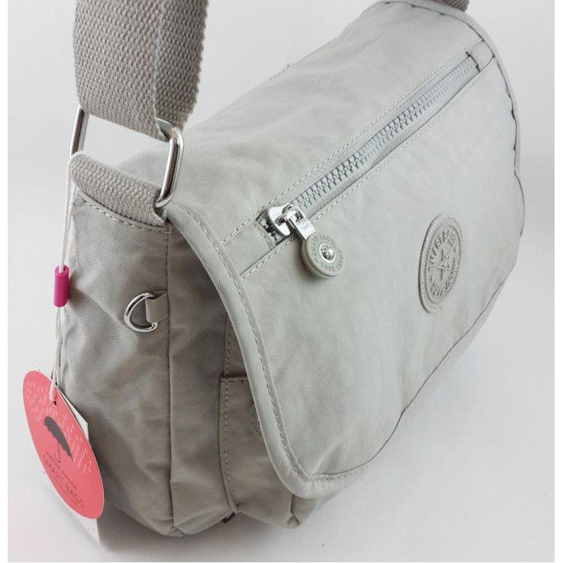30bd40629d1c8 Smart Bags Su Geçirmez Buz Grisi Krinkıl Kumaş Bayan Postacı Çantası ...