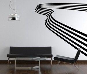 sticker trompe oeil effet d 39 optique pinterest optique et escaliers. Black Bedroom Furniture Sets. Home Design Ideas