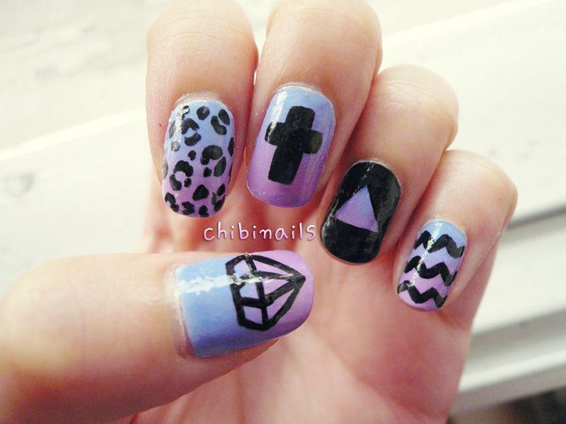 Hipster Nails Designs - Nail Ftempo