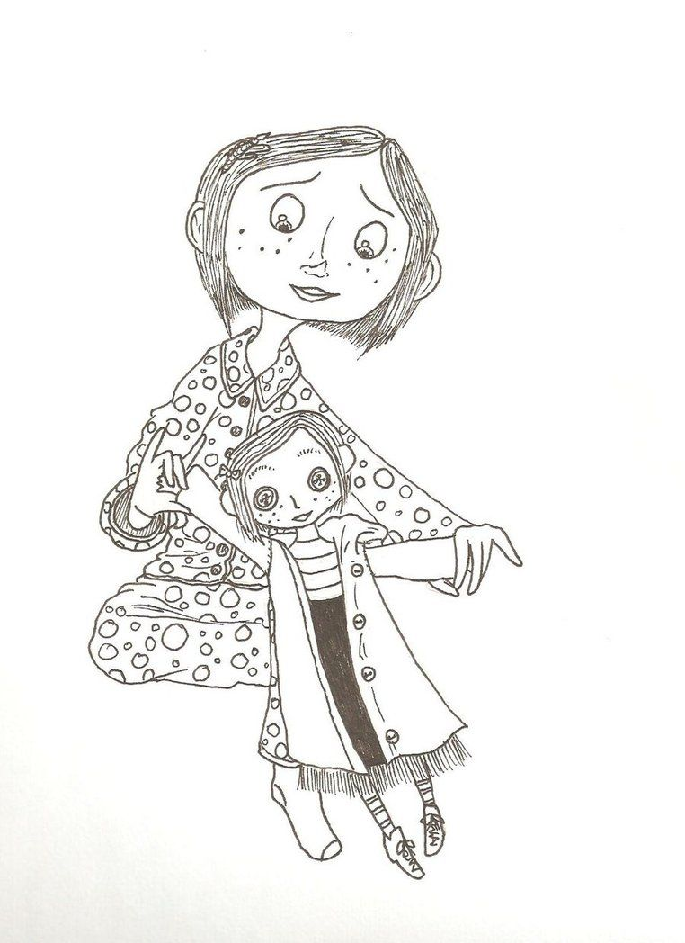 I M A Tad In Love With Coraline With Images Coraline