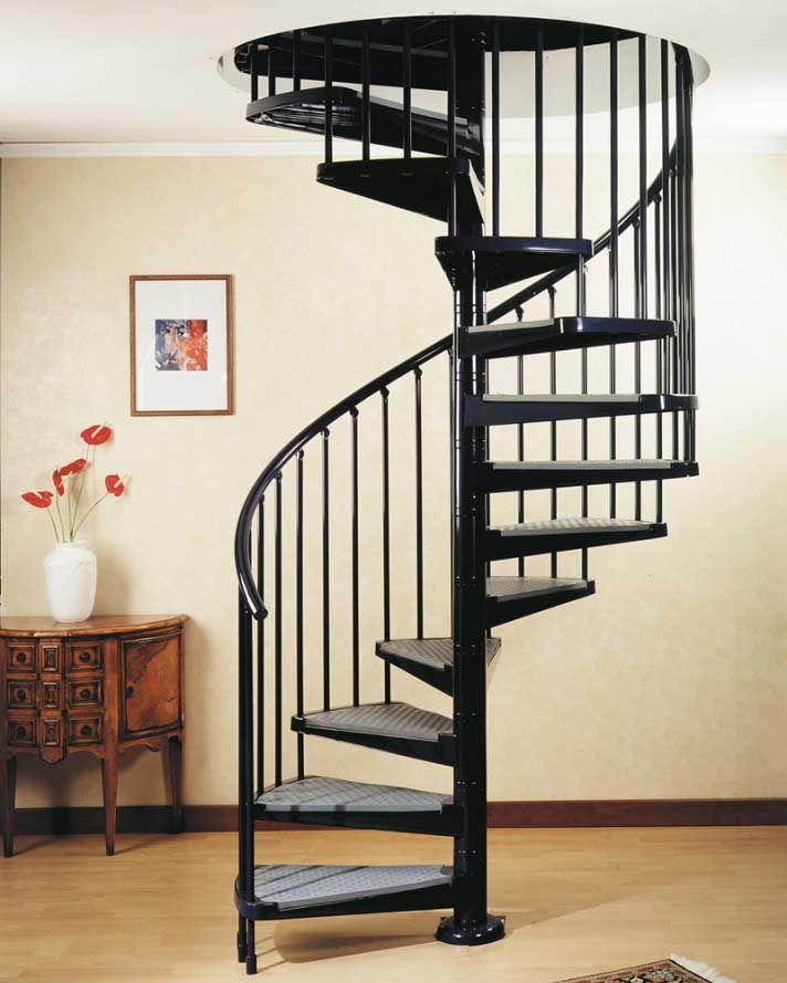 escalier en colimacon en acier