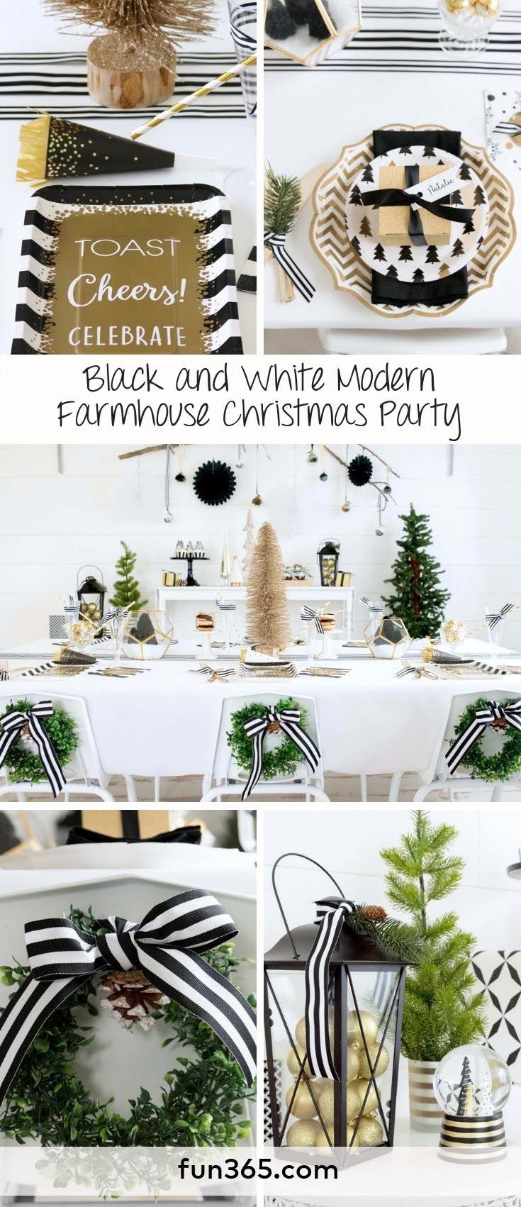 Fun365 Craft Party Wedding Classroom Ideas Inspiration Farmhouse Christmas Christmas Party Decorations Diy Christmas Party Decorations