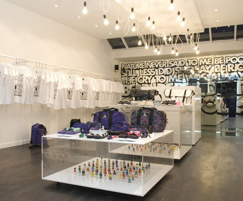 Creative fashion retail space in Shoreditch, London. Goodhood retail design | Forster Inc.