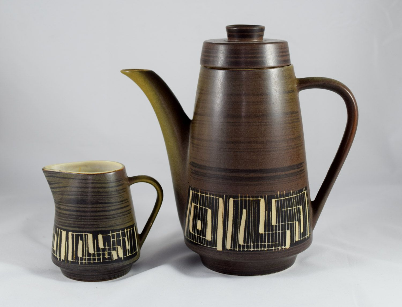PALCERAMIC Israel set of Tea pot/Coffee pot & creamer