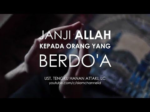 Hanan Attaki Janji Allah Kepada Orang Yang Berdoa Youtube