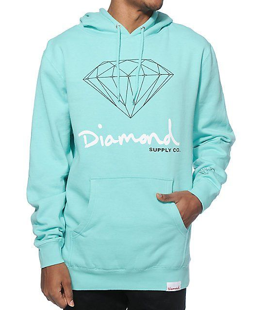 f07463acb01d Keep it OG with a classic Diamond Supply Co OG sign script logo graphic on  the chest of a mint colorway that features gusseted side panels for an  improved ...