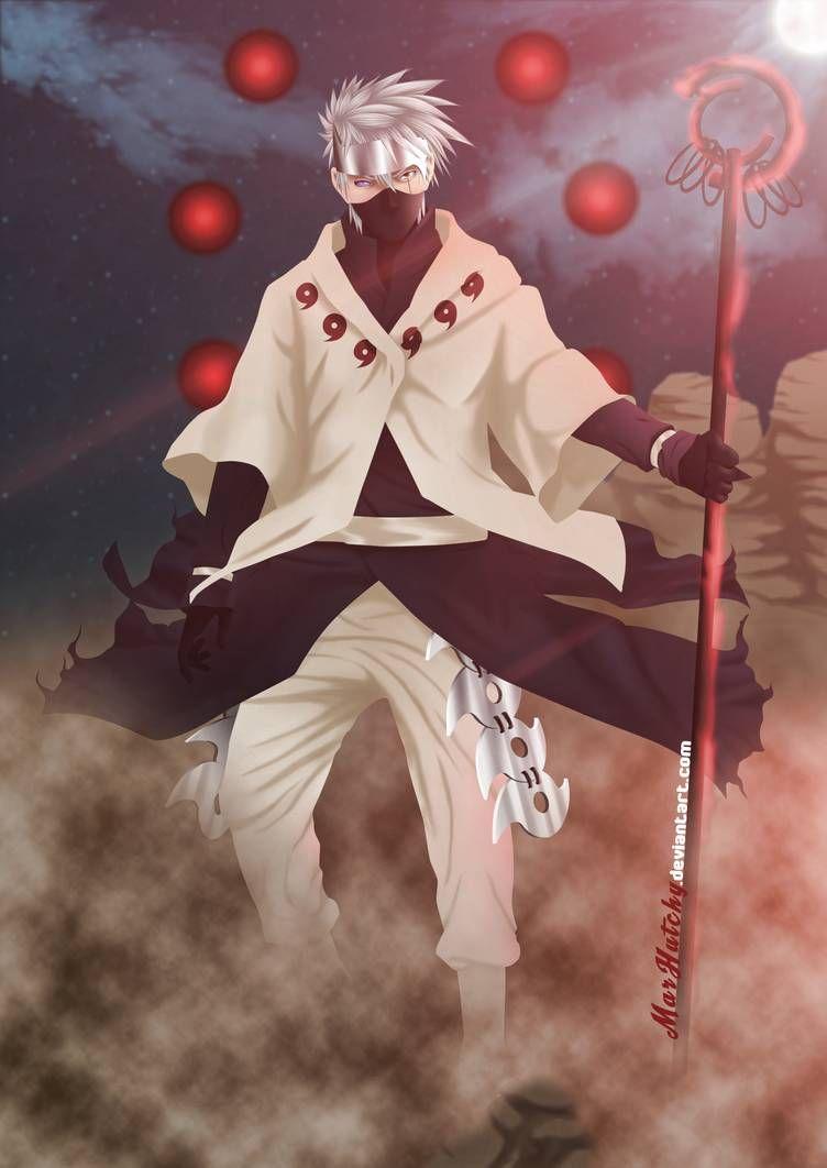 Rikudo Mode Kakashi (Fan Art) by MarHutchy on DeviantArt