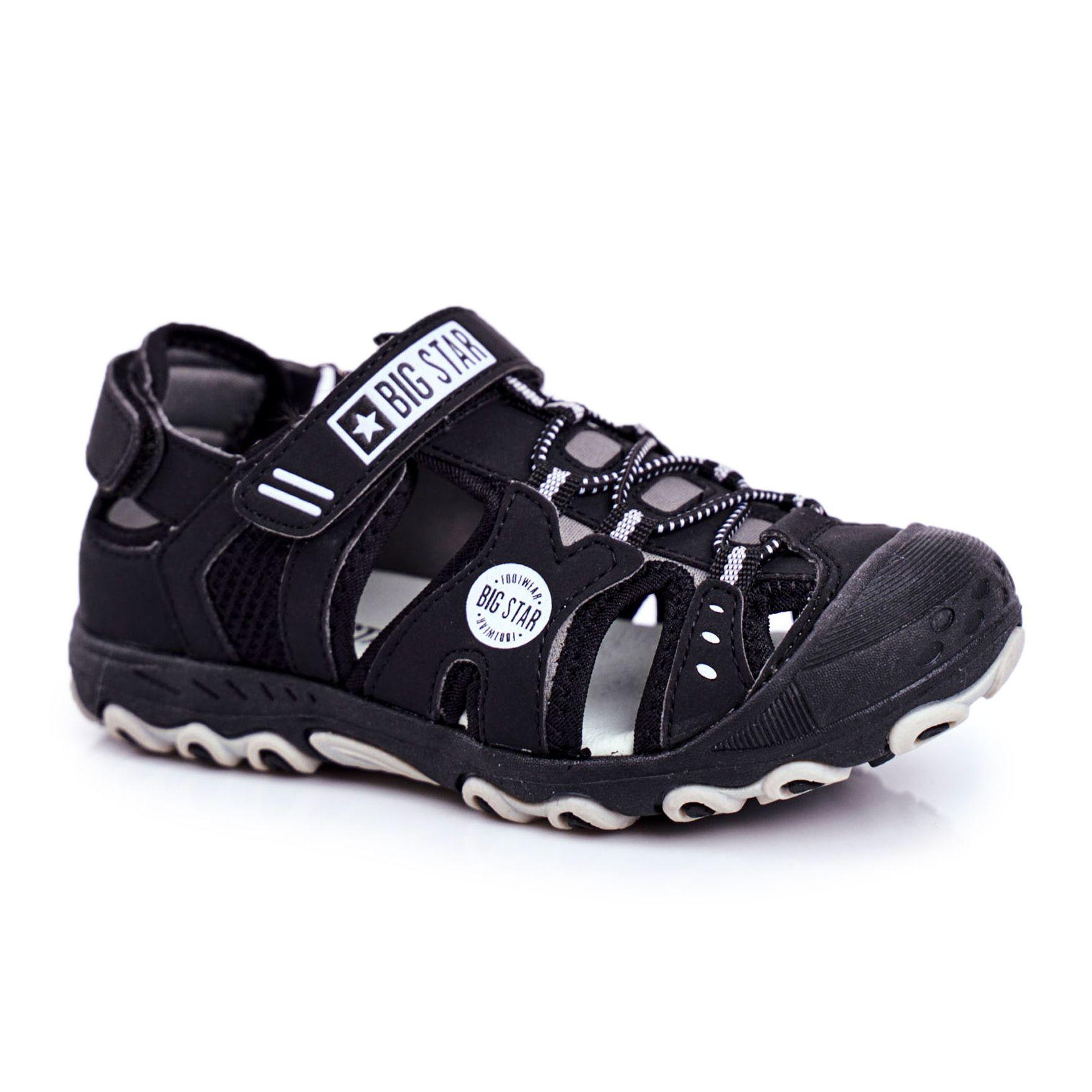 Sandalki Dzieciece Big Star Na Rzepy Czarne Ff374210 Sketchers Sneakers Shoes Sneakers
