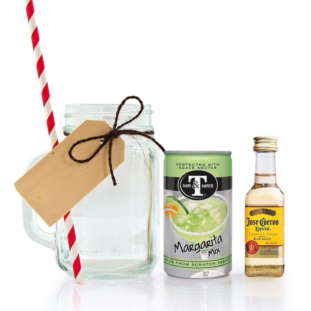 Mini Mason Jar Margarita Gift Set   Mini mason jars, Jose cuervo and ...