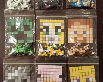 Diese Perlen Perler DIYKits Sind Inspiriert Vom Awesome Minecraft - Minecraft spiele bauen