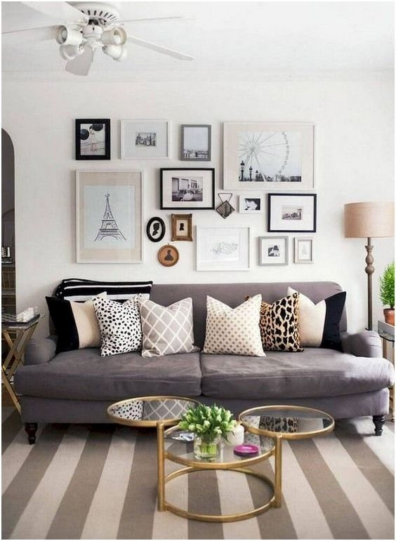 Photo of ✔ 28 comfy small apartment living room decorating ideas on a budget 3   Home S…