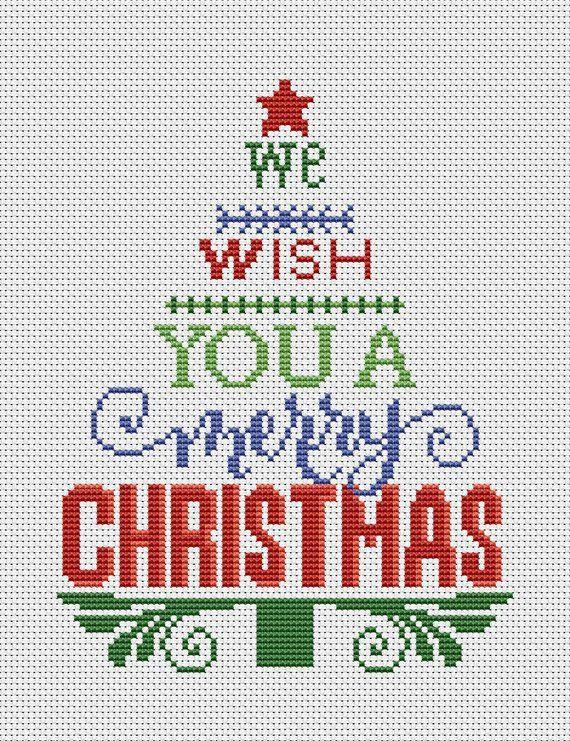 Photo of Christmas tree cross stitch pattern pdf christmas cross stitch pattern quote cross stitch pattern holidays cross stitch BUY 2 GET 1 FREE