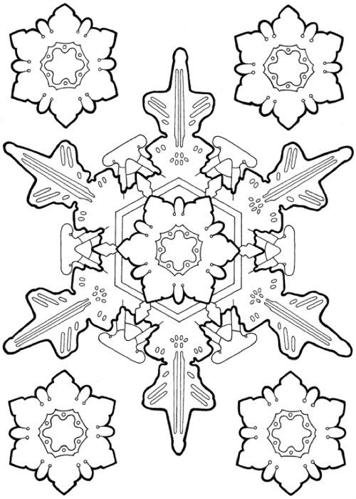 22 Christmas Coloring Books To Set The Holiday Mood Snowflake DesignsColoring