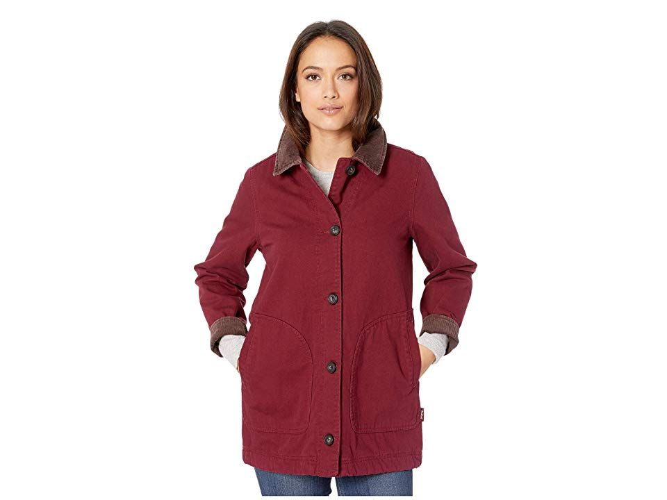3c6472436ed Woolrich Dorrington Barn Jacket (Tamarind) Women's Jacket. The ...
