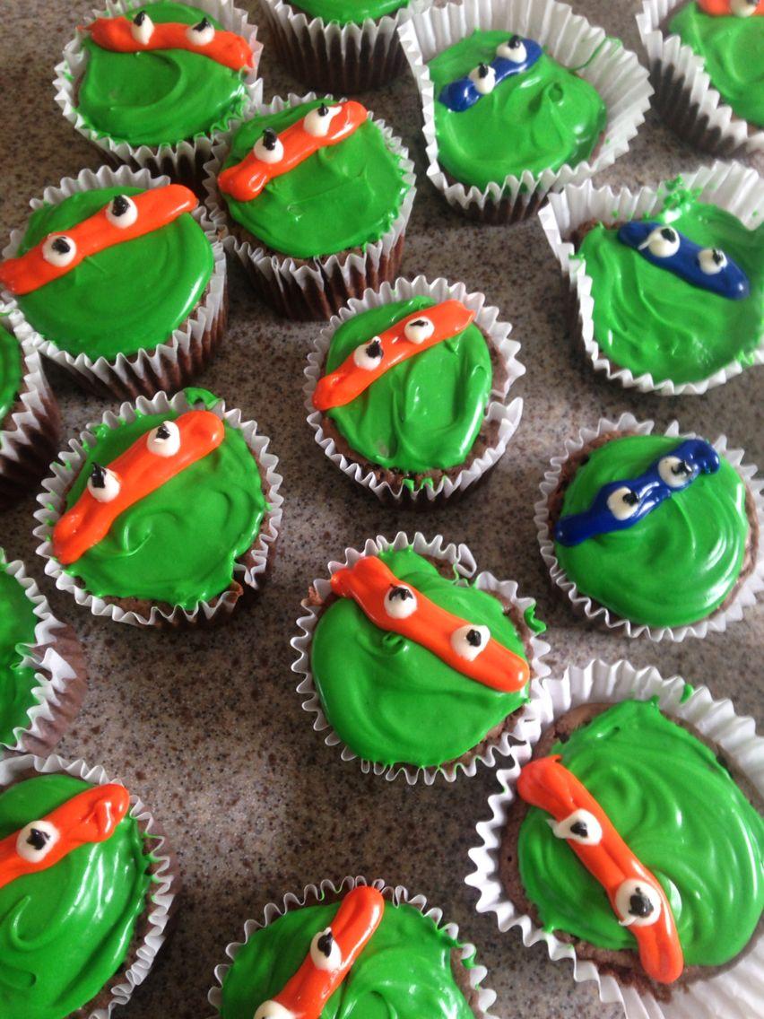 Teenage mutant ninja turtles brownies for bake sale