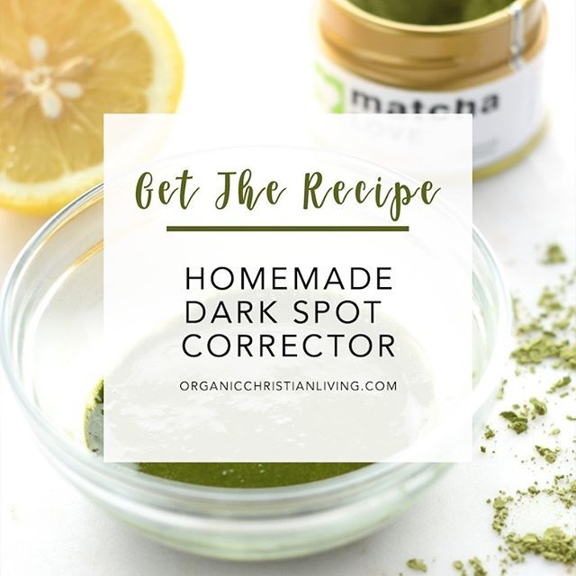 Treat yourself to an at home spa day this weekend with this homemade dark spot corrector duo! If you want to brighten dark spots and improve the overall ...