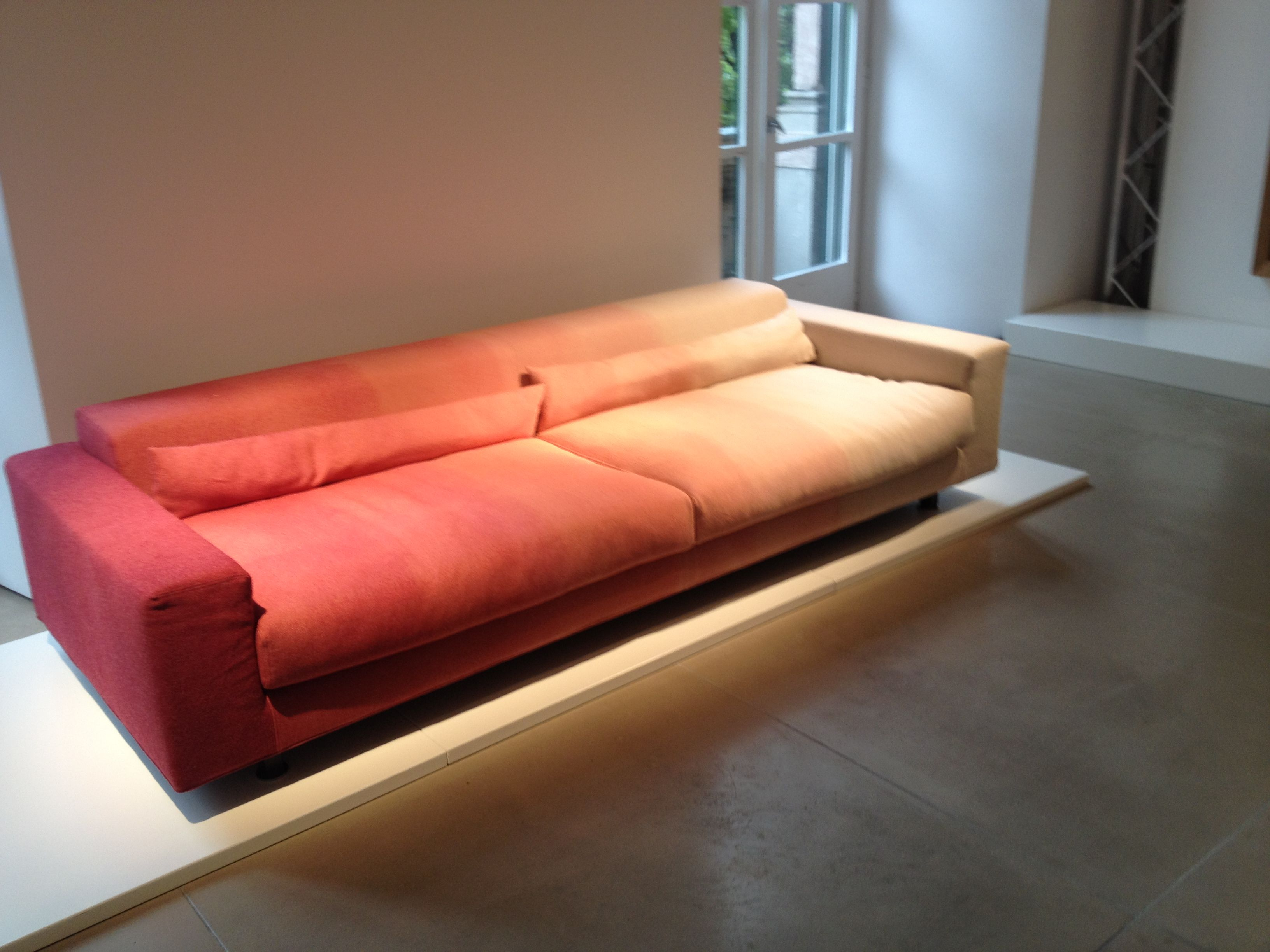 Mobili moroso ~ Moroso blur sofa and mark table by marc thorpe wanteddesign may