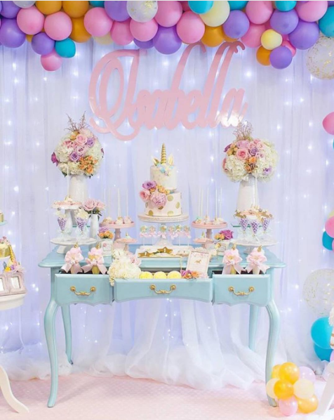 101 Fiestas 10 Ideas Para Un Baby Shower De Unicornio
