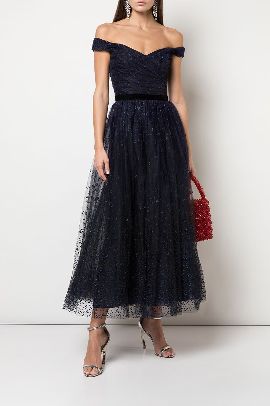 30 Dresses In 30 Days Wedding Guest Outfit Black Pleated A Line Tea Length Lac Wedding Guest Outfit Winter Winter Wedding Guest Dress Lace Tea Length Dress [ 1556 x 736 Pixel ]