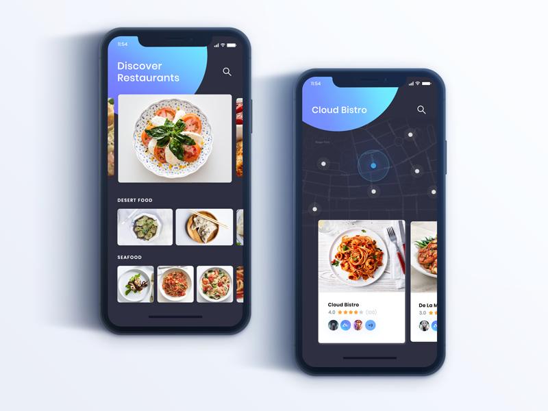 Restaurant Apps Exploration Concept