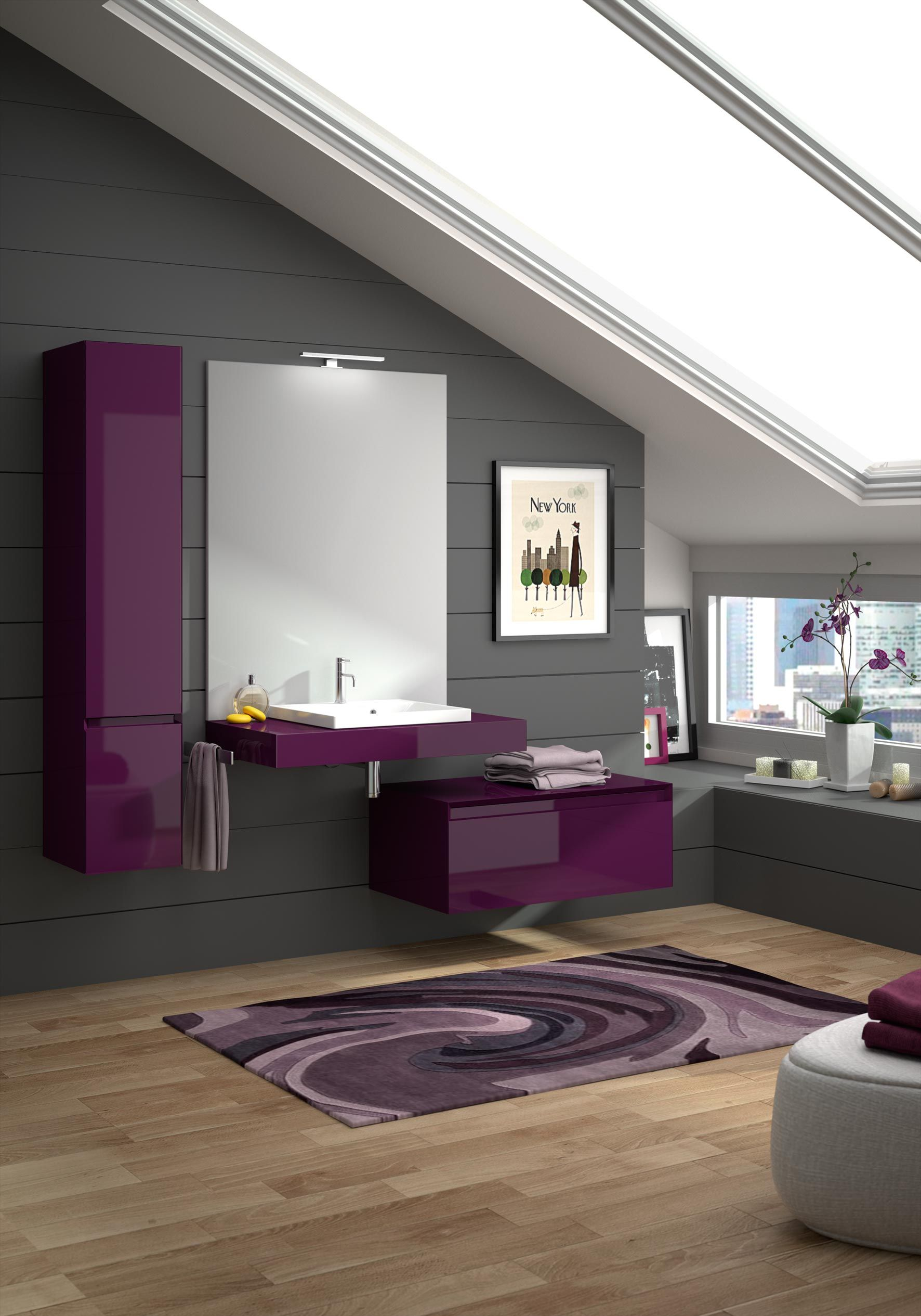 meuble de salle de bain cedam gamme plazza enti rement