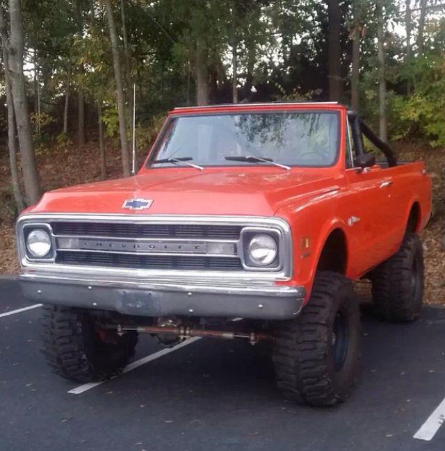 1969 K5 Blazer.