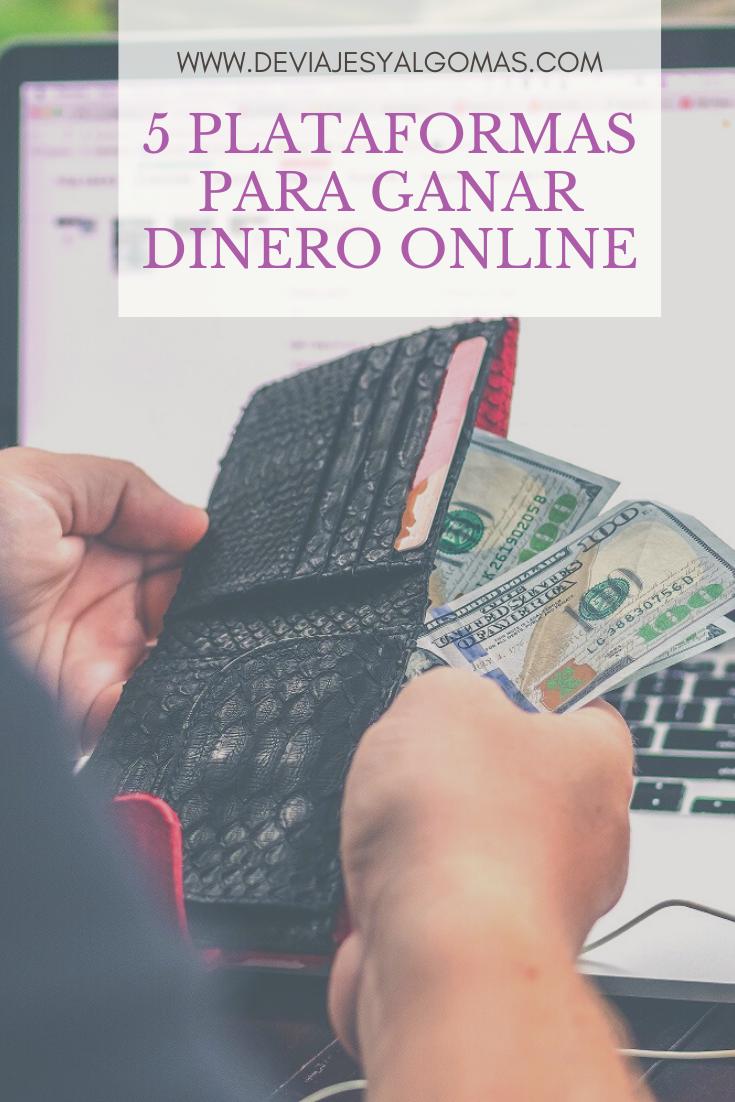 5 Plataformas Para Ganar Dinero Online En 2020 Ganar Dinero Online Ganar Dinero Tips Para Ahorrar Dinero