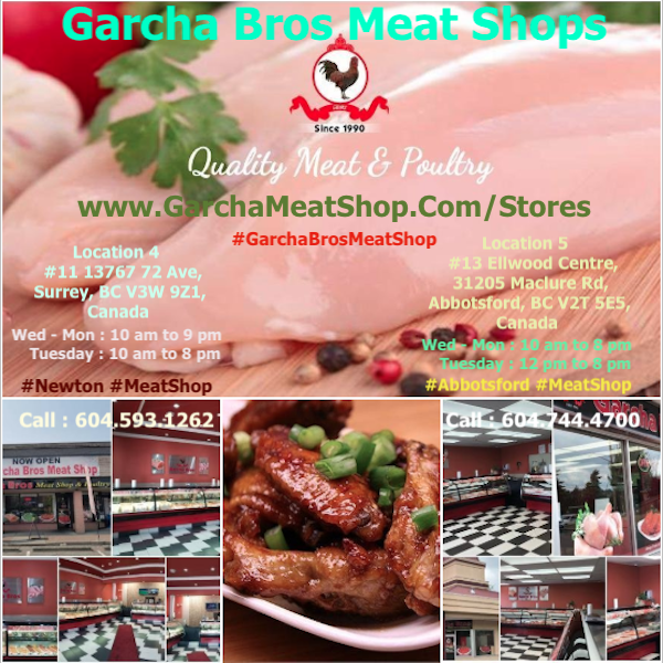 Garcha Bros Meat Shops Poultry Newton Surrey Abbotsford