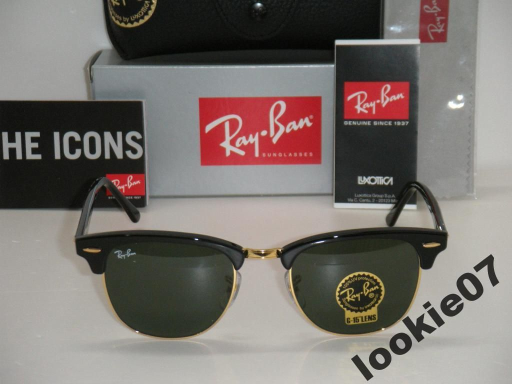 Ray Ban Rayban Rb3016 Clubmaster W0365 51mm 5213841846 Oficjalne Archiwum Allegro New Ray Ban Sunglasses Unisex Accessories Rayban Sunglasses Clubmaster