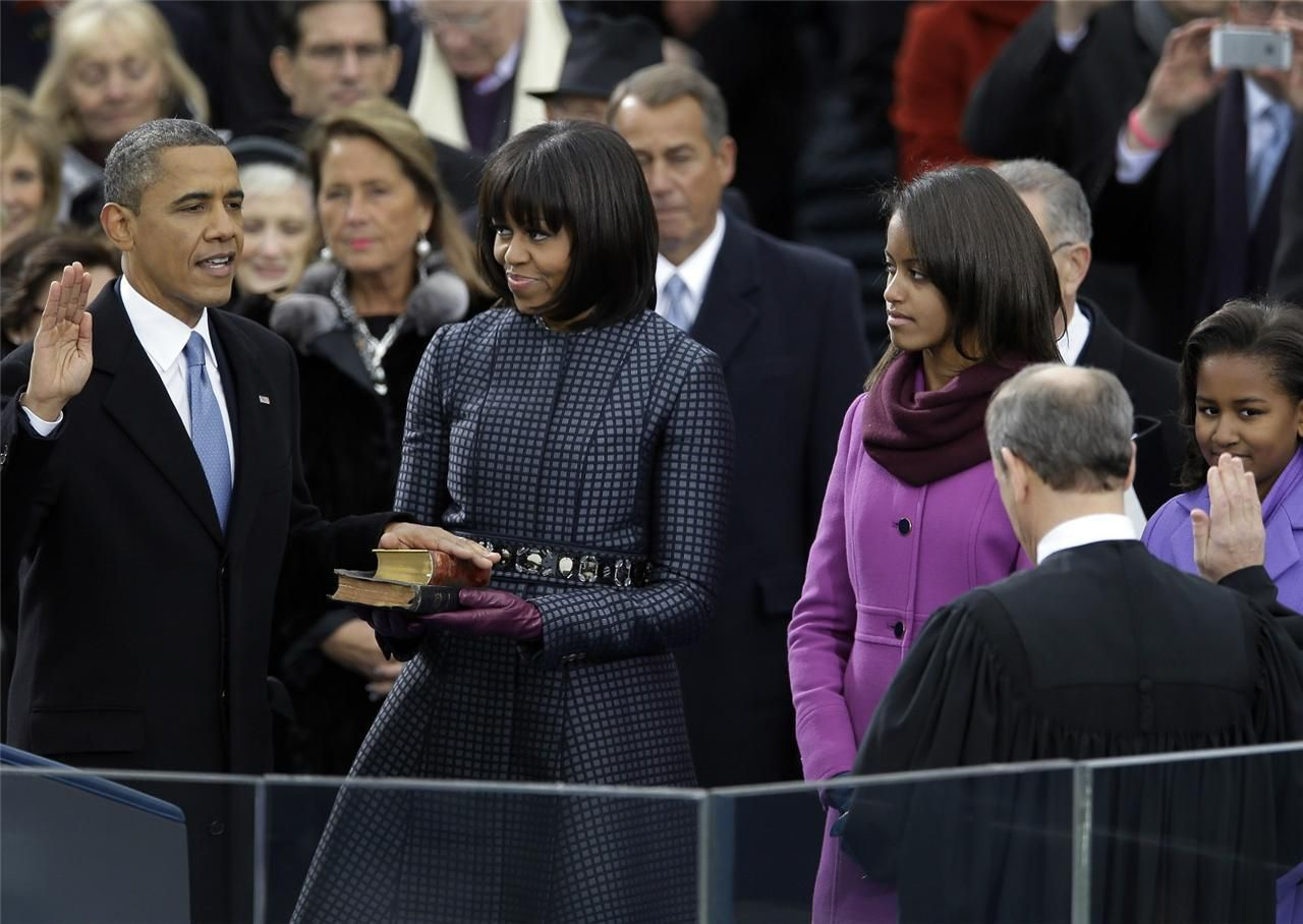 Barack Hussein Obama 44rd President of the United States Glossy Print Photo