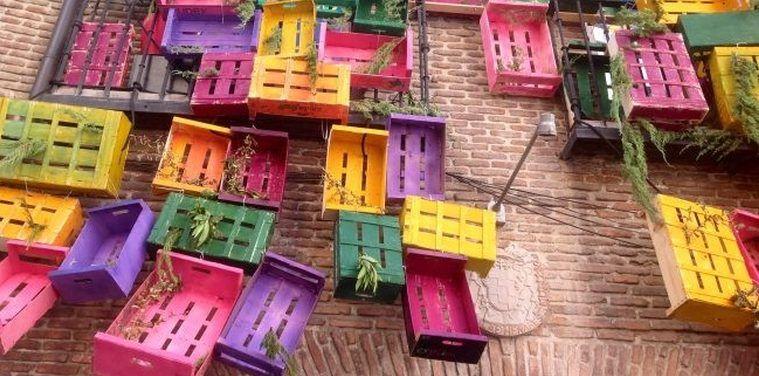 Pintar cajas de fruta de madera cerca amb google caixes Cajas fruta decoracion