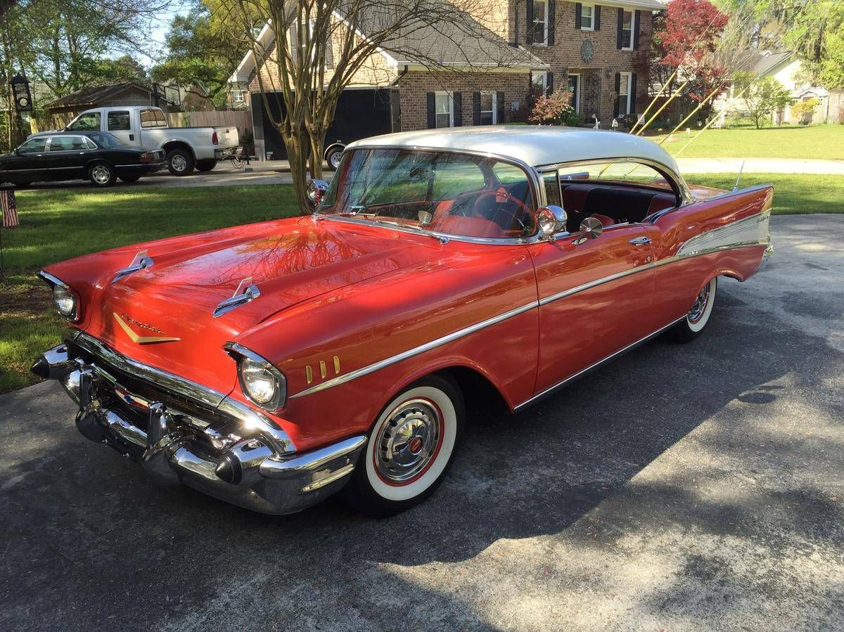 1957 Chevrolet Bel Air 2 Door Hardtop Tri Five Chevrolets Chevy