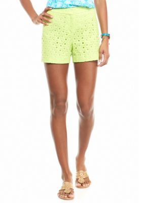 3bb9bf37098 Crown   Ivy™ Solid Eyelet Shorts