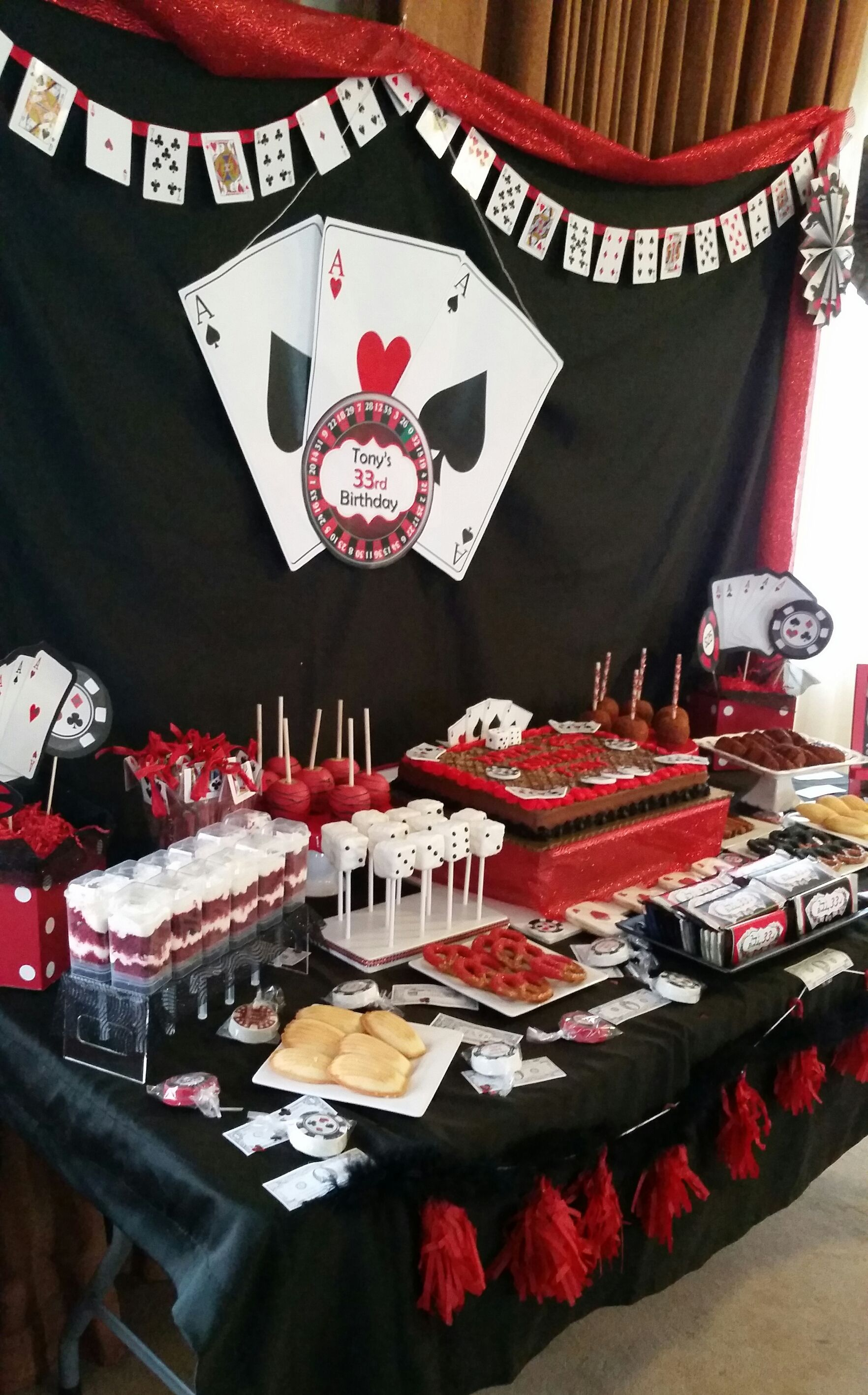 Casino Theme Candy Buffethttps://www.instagram.com/sosweetcandybuffets/